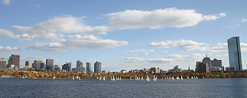 [photo of Boston & Charles River] (c) D.Nagaj